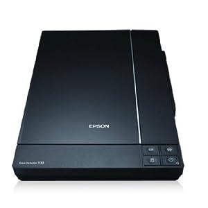 EPSON 爱普生 PERFECTION V33扫描仪 无需预热 4800dpi高分辨率