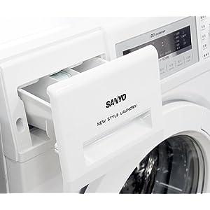 SANYO 三洋XQG60-F1028BW 6.0公斤全自动滚筒洗衣机(月光白)
