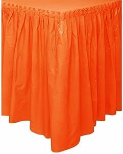 orange oakleys  orange table skirt