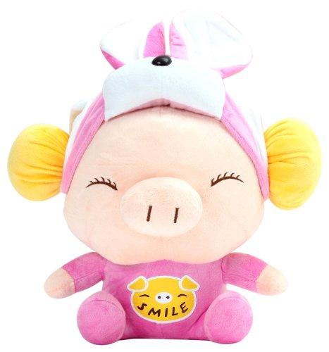 酷玩部落 毛绒玩偶猪系列 变身猪宝宝(兔宝宝)图片
