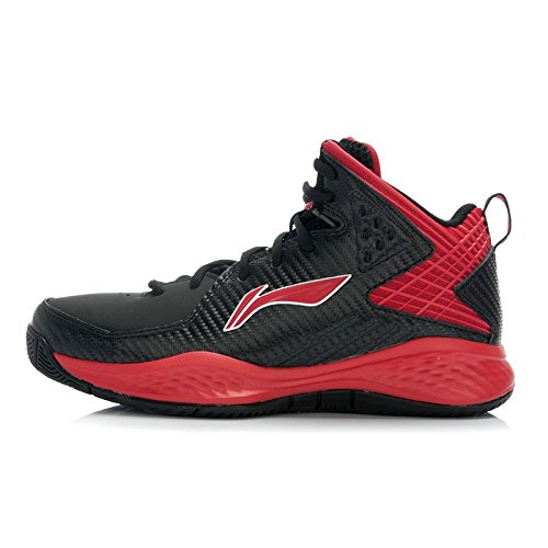 LI-NING 2014新款李宁云减震闪电系列男篮球鞋 中帮篮球鞋ABPJ049-1-2