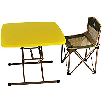 路华 710 折叠桌椅套装 L71*D71*(H60/70)cm