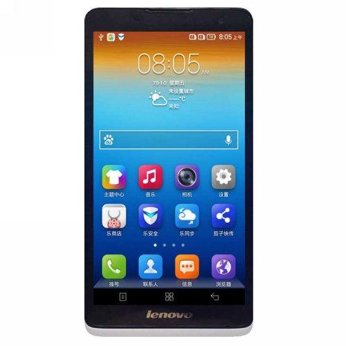 Lenovo 联想 A890e 3G手机 双网双待(白色 电信定制)-图片