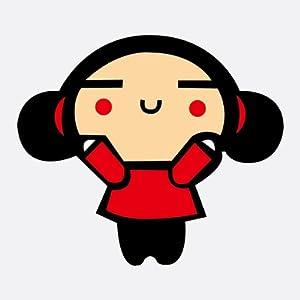 汽车贴纸 中国娃娃