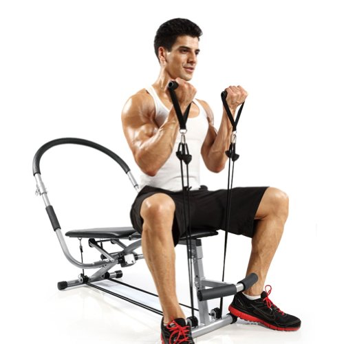 5AFIT 我爱健身 家用多功能便捷式健身椅—豪华款 BC07 仰卧起坐 (腹肌板 哑铃凳 家用健身器材)-图片