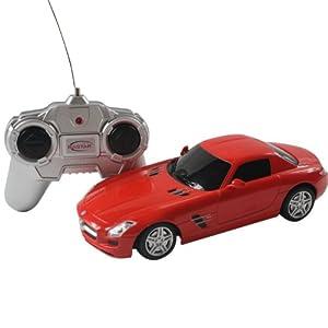 星辉 仿真遥控车模 1:24奔驰sls 红色 40100 高仿真车模,做高清图片