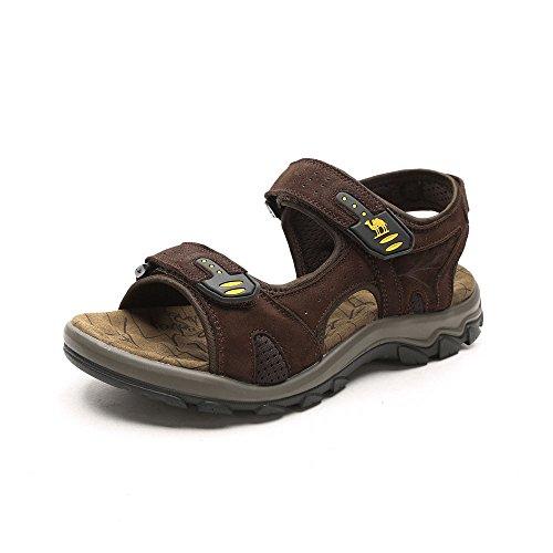 Camel 骆驼 户外沙滩凉鞋 2015春夏季男款防滑耐磨牛皮凉鞋沙滩鞋