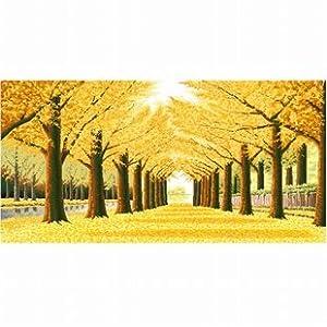 dmc 多美绣 客厅大画卧室欧式风景油画黄金满地 法国 十字绣 14ct 两
