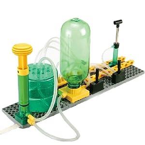 科学探索实验器材 空气压传动教具图片