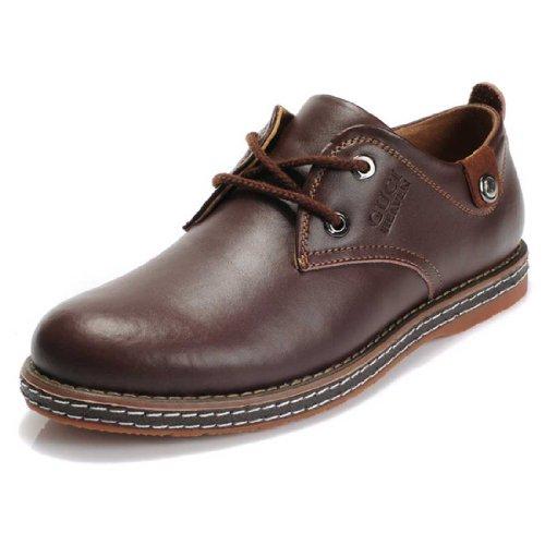 Guciheaven 古奇天伦 秋冬季新款英伦男士商务休闲皮鞋 牛皮低帮男鞋539