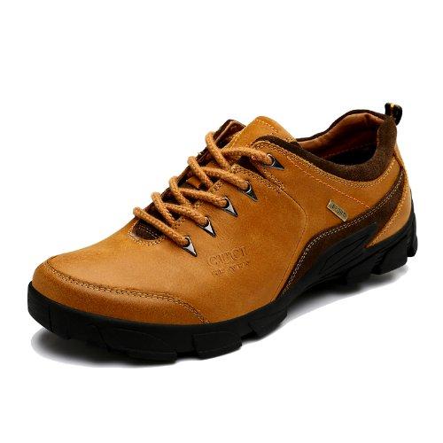 Guciheaven 古奇天伦 英伦系带时尚商务休闲鞋 户外徒步登山鞋鞋 舒适男士皮鞋 百搭经典男鞋