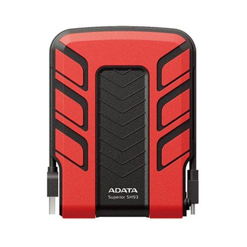 特价预告:ADATA 威刚 SH93 2.5寸移动硬盘(500G、三防)