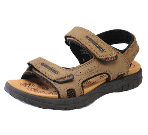 Camel 骆驼牌 涉外时尚经典凉鞋 简约见型 夏季必备 男士涉溪款 男凉鞋