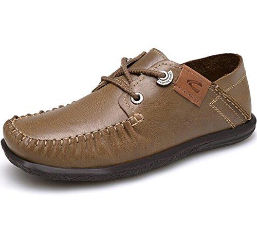 CAMEl ACTlVE 英伦系带户外复古保暖透气低帮皮鞋商务休闲鞋单鞋驾车鞋 时尚潮鞋豆豆鞋 男鞋子