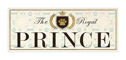 原版进口装饰画 皇家王子【the royal prince】 51x20cm 宠物标志