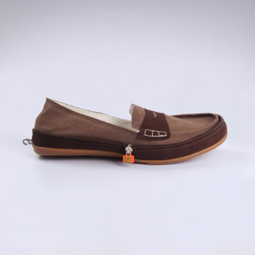 gonna高乐男士时尚拉链鞋驾驶鞋平底轻便鞋经典帆布鞋舒适
