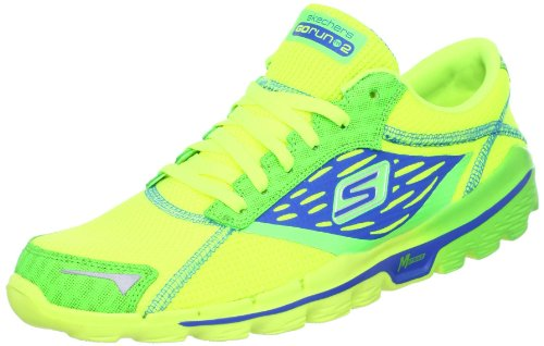 Skechers 斯凯奇 GO RUN 2系列 男 炫彩极轻透气赤足跑步鞋 53555