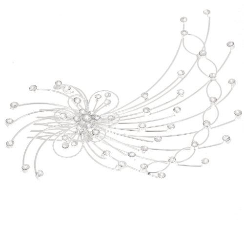 戴维丝 孔雀形水钻发饰(ts105002)图片
