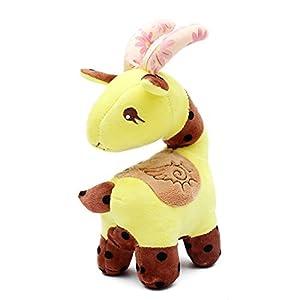 雅德森 回眸羊毛绒玩具羊公仔 布娃娃羊抱枕 回眸羊吉祥物(生日礼物)