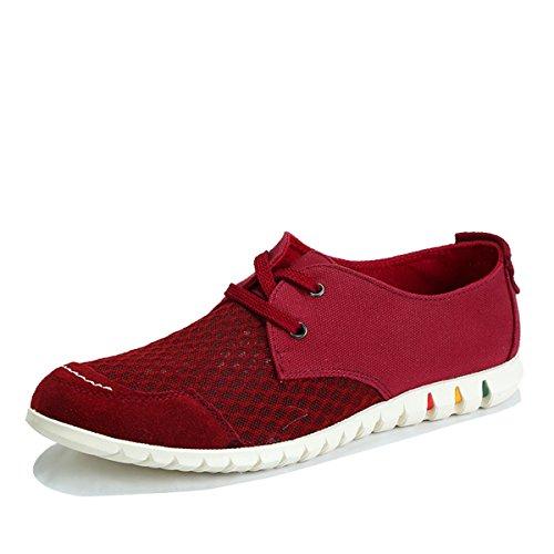 Tt&Mm 汤姆斯 男鞋2015新款夏季镂空透气网面鞋休闲系带韩版帆布鞋536801M