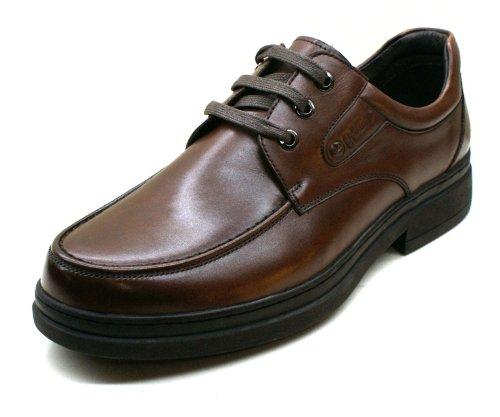 Goldlion金利来 皮鞋 商务休闲男鞋G12855棕