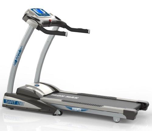 【暑期疯享惠 全国包邮 免费上门安装 送跑步机垫和硅油】5AFIT 我爱健身 跑步机 家用豪华电动跑步机 静音折叠时尚智能 钢铁侠跑步机GTX-2-图片