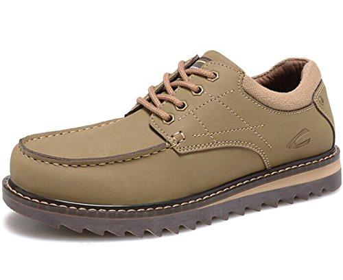 CAMEl ACTlVE 英伦系带户外复古保暖透气低帮马丁鞋皮鞋工装鞋商务休闲鞋单鞋 时尚男鞋子