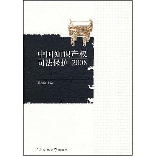 中国知识产权司法保护2008