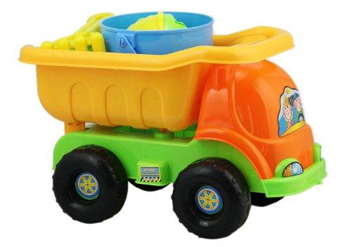 HABIBI 夏日戏水沙滩玩具 套装 沙滩车9件套-图片