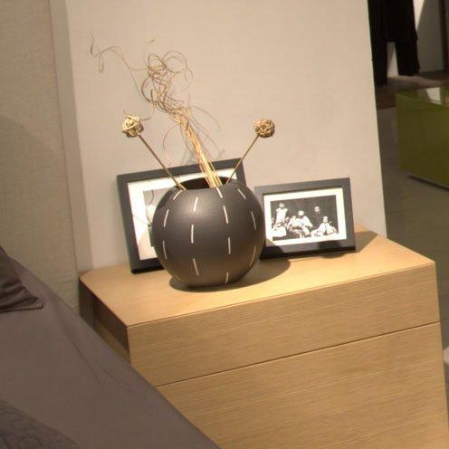 简约现代花瓶摆件 欧式时尚家居装饰品摆设 a474 a474珍珠黑条纹