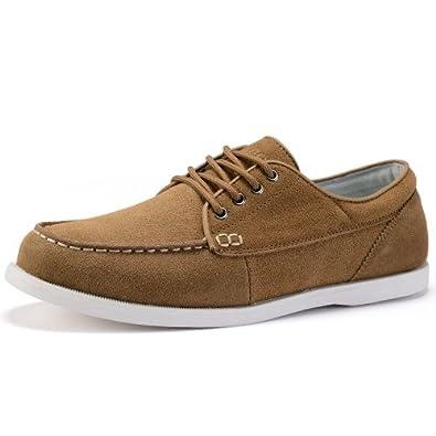 男鞋英伦时尚帆船鞋