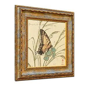 画 欧式客厅现代装饰画 沙发背景墙有框画墙画挂画壁画xh151 韩版画框