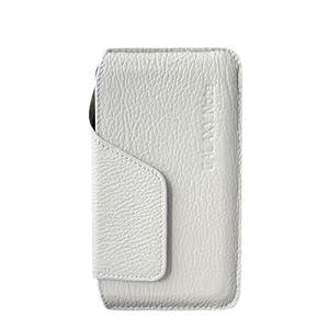 Coomast 酷玛特 三星i9220 Galaxy Note N7000 保护套 柔软小羊皮真皮 钱包皮套 (白色)