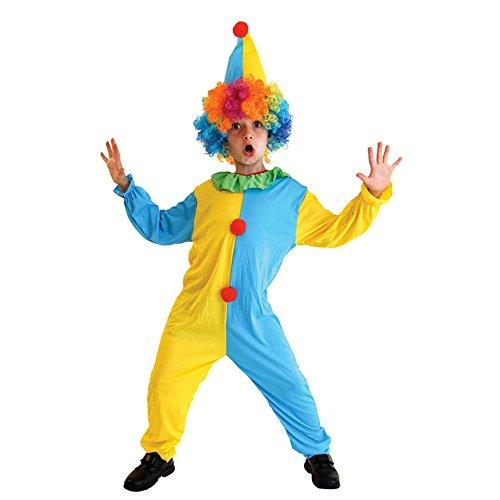 六一儿童节服装化妆舞会儿童小丑服装小丑装扮黄蓝小丑服装圣诞衣服