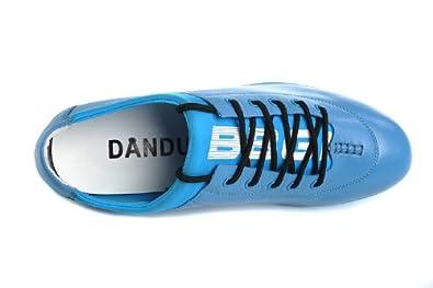 丹度dandu低帮男鞋男式头层牛皮鞋男子时尚潮流低帮