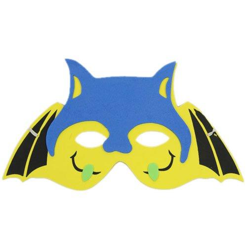 海绵纸手工制作动物面具