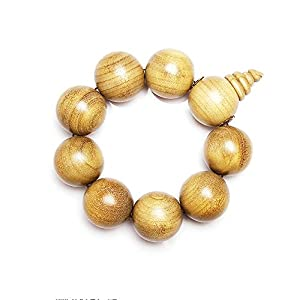 金丝楠木料佛珠手链手串 30mm把玩提珠30超大珠子 也可做车挂内饰品