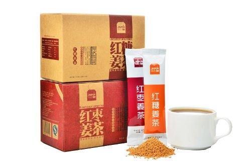 简品100.姜茶组合 精选红糖/红枣-图片