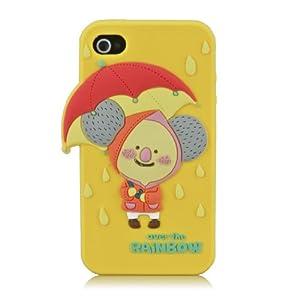 akna 阿卡纳 可爱动物系列 可爱 3d 手机壳 iphone 4