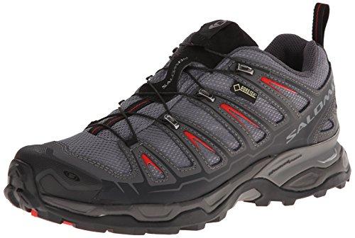 Salomon 萨洛蒙 男 徒步鞋SHOES X ULTRA GTX® DETROIT/AUTOBAHN/RD  309083 底特律灰 40 (UK 6.5)