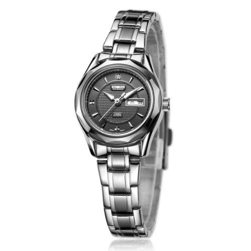 EBOHR  依波 都市经典系列机械女士手表 商务休闲 10110126-图片