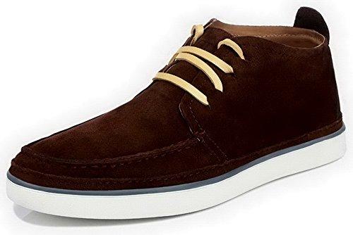 时尚潮流男鞋 系带头层牛皮鞋子 平底男式休闲鞋 低帮鞋 板鞋子 驾车鞋 5G605