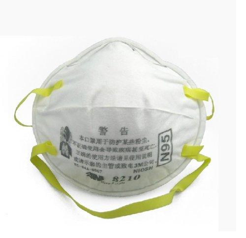 3m 8210 极细粉尘防护口罩 n95工业粉尘 95%以上过滤效果20只装图片