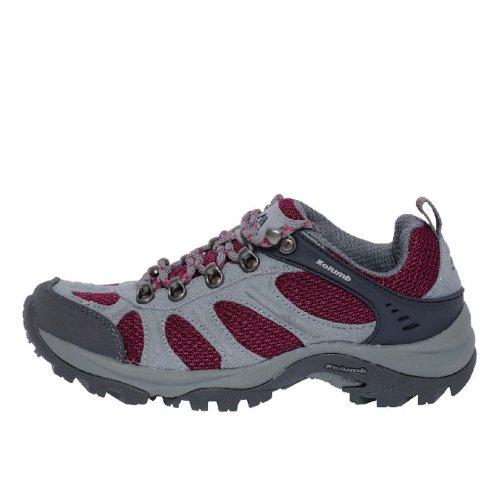 Kolumb 哥仑步 2013新款女子户外运动低帮透气舒适防滑徒步鞋 404972 灰色