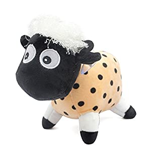 可爱小绵羊驼美羊羊毛绒玩具公仔卡通娃娃玩偶送朋友生日婚庆 (长22