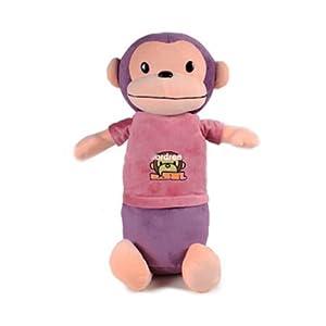 卡拉梦 猴子抱枕 毛绒玩具公仔娃娃 生日礼物女生 创意 65cm大嘴巴猴