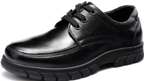Fuguiniao 富贵鸟 顶级头层牛皮商务休闲鞋 大头正装鞋 透气户外休闲鞋 防滑橡胶底男鞋