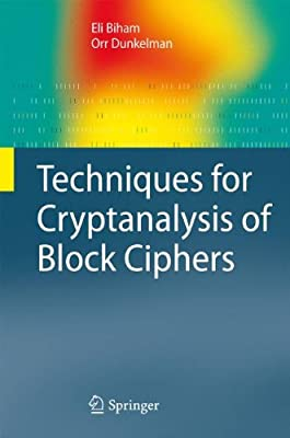Techniques for Cryptanalysis of Block Ciphers.pdf