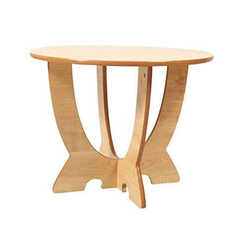 zld智乐多创意儿童学习圆桌cl3014m(松木木制家具 韩式田园风格三色可