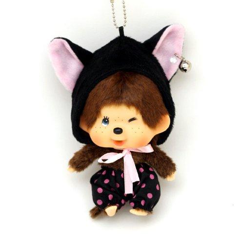 回至 甜蜜城堡 香港正版 蒙奇奇公仔可爱娃娃monchhichi包挂 精美盒装